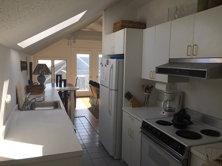 Provincetown Cape Cod vacation rental - Kitchen from back of unit