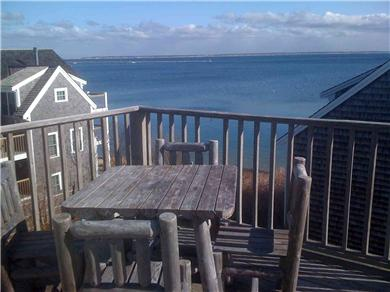 Provincetown Cape Cod vacation rental - View east from deck