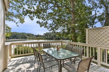 Hyannis Cape Cod vacation rental - 1st Floor Deck over Water