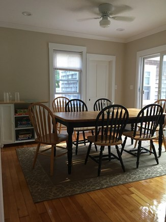Harwich Port Cape Cod vacation rental - Dining Room with seating for 8