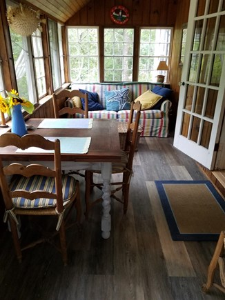 Truro Cape Cod vacation rental - Enclosed front porch