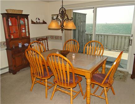 Yarmouth Cape Cod vacation rental - Dine inside or out while enjoying the water views & ocean breezes