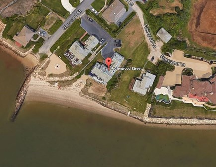 Yarmouth Cape Cod vacation rental - Ariel photo of home. Exclusive neighborhood.