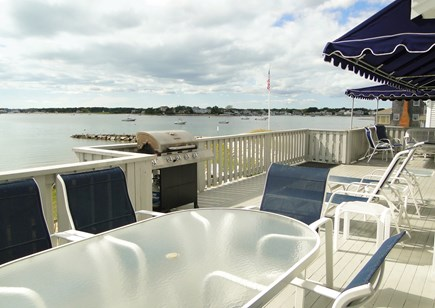 Yarmouth Cape Cod vacation rental - Dine outside and watch the boats