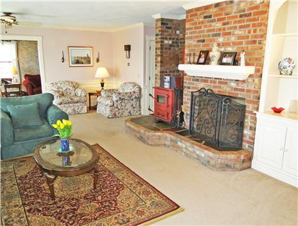 Yarmouth Cape Cod vacation rental - Main living area adjacent to two additional living spaces