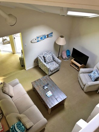 New Seabury, Mashpee New Seabury vacation rental - Lofted Living Area with Skylight and Television