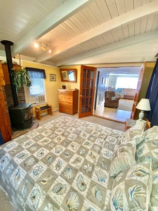 West Yarmouth Cape Cod vacation rental - Bedroom off of Living Room adjacent to bathroom