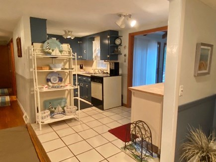 West Yarmouth Cape Cod vacation rental - Kitchen nestled in between family room and dining room