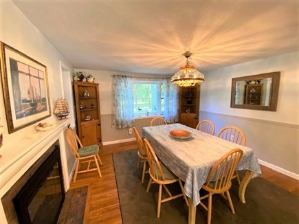 West Yarmouth Cape Cod vacation rental - Dining room- great for family game night!