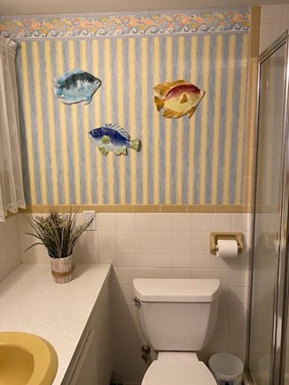 West Yarmouth Cape Cod vacation rental - Full bathroom #2 with stand up shower