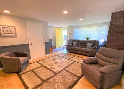 West Yarmouth Cape Cod vacation rental - Living Room with laundry room entrance
