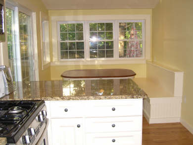 Brewster Cape Cod vacation rental - Kitchen with built in nook