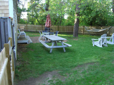 Brewster Cape Cod vacation rental - Private fenced-in backyard