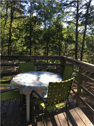 South Wellfleet Cape Cod vacation rental - Back deck with grill (not in picture).