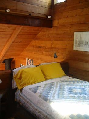 South Wellfleet Cape Cod vacation rental - Master bedroom loft with Queen Bed