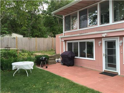 Plymouth, Manomet MA vacation rental - Private yard overlooking bluff and Plymouth Bay