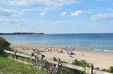 Plymouth, Manomet MA vacation rental - Private, community Manomet Beach just 5 minutes away