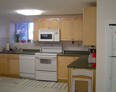 Plymouth, Manomet MA vacation rental - One of the TWO large, open, modern kitchens!