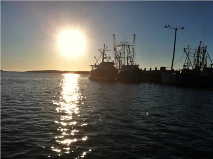 Wellfleet Cape Cod vacation rental - Wellfleet Harbor at Sunset