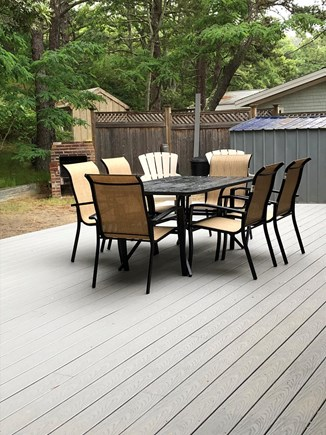 Wellfleet Cape Cod vacation rental - Over sized  Deck