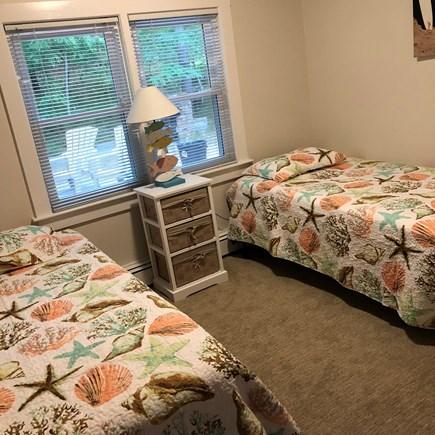 Wellfleet Cape Cod vacation rental - Bedroom #2 with Twin Beds