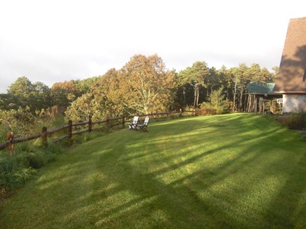 Wellfleet Cape Cod vacation rental - 2-acre area that surrounds the large private home