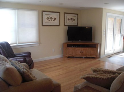 Wellfleet Cape Cod vacation rental - TV and Family room