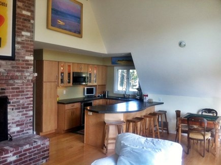 Wellfleet Cape Cod vacation rental - Entertaining Wet Bar with two Bar Refrigerators