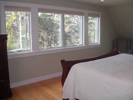 Wellfleet Cape Cod vacation rental - Master Bedroom with Bath other view