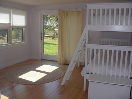 Wellfleet Cape Cod vacation rental - Bunk Room with 2 bunks sleeps 4 children