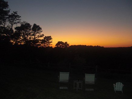 Wellfleet Cape Cod vacation rental - Dusk