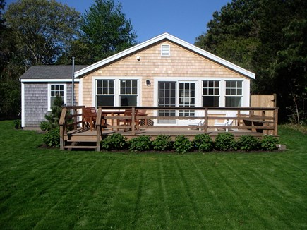 Chatham Cape Cod vacation rental - Chatham Vacation 7432 Rental ID.  Great Deck. Great Lawn.