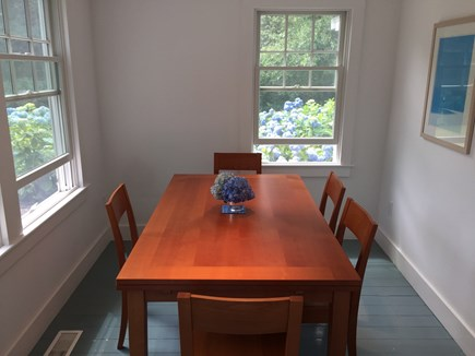 Chatham Cape Cod vacation rental - Sunny dining room
