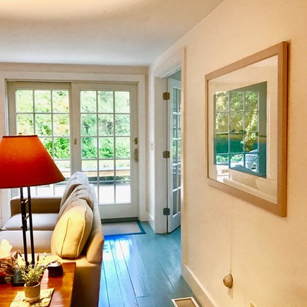Chatham Cape Cod vacation rental - Great natural light.  Sliding doors open onto the spacious deck.