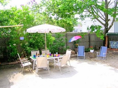 West Yarmouth Cape Cod vacation rental - Patio - enjoy grilling or relaxing in the shade