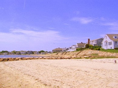 West Yarmouth Cape Cod vacation rental - Bayview beach is 5 minute walk down the street
