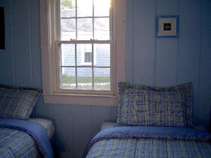 Wellfleet Cape Cod vacation rental - 2nd bedroom w/ 2 twin beds. Can join w/ king mattress topper.