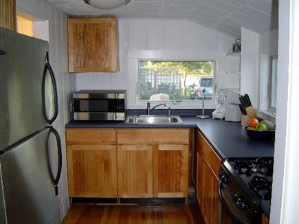 Wellfleet Cape Cod vacation rental - Updated kitchen!  Lobster pot, wine opener, toaster, pots & pans.