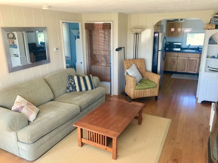 Wellfleet Cape Cod vacation rental - Sun-filled living and dining area