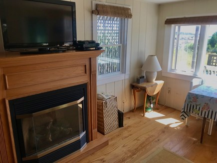 Wellfleet Cape Cod vacation rental - Flat screen cable TV, wifi, propane fireplace.