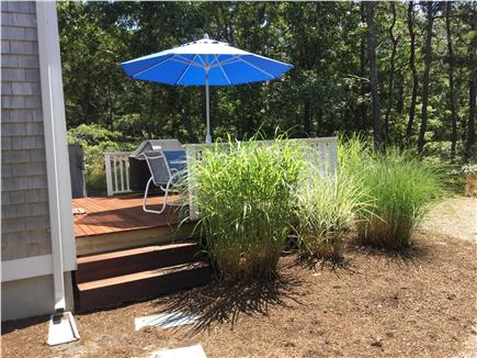 Truro Cape Cod vacation rental - Deck and Yard