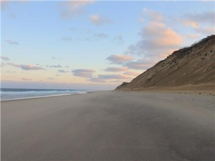 Truro Cape Cod vacation rental - Long Nook Beach 5 minute drive away