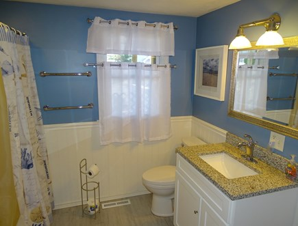 South Yarmouth Cape Cod vacation rental - Full bath downstairs, adjacent to bedrooms