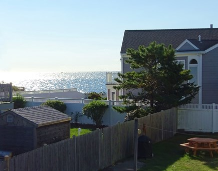 South Yarmouth Cape Cod vacation rental - Water views from the deck