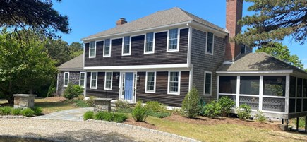 Eastham Cape Cod vacation rental - Front of the house