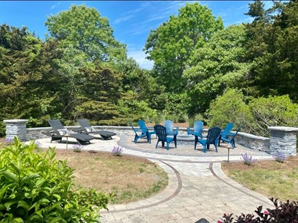 Eastham Cape Cod vacation rental - Fire Pit and Lounge area