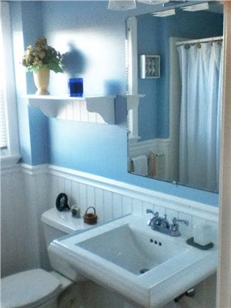 East Sandwich Cape Cod vacation rental - One of two bathrooms