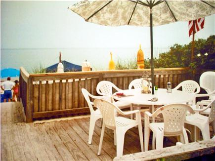 East Sandwich Cape Cod vacation rental - View from dune deck onto beach
