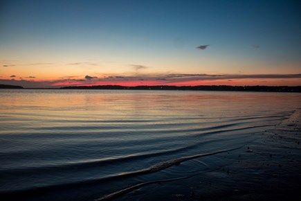 Wellfleet Cape Cod vacation rental - Sunset along the bay