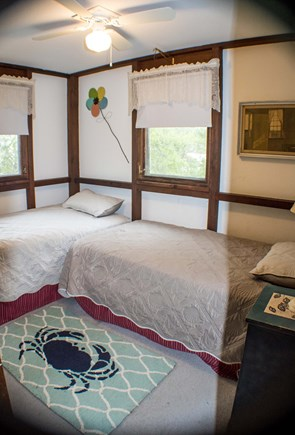 Wellfleet Cape Cod vacation rental - Bedroom 2  with twin beds